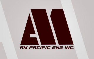 AM Pacific Logo Design (Engineering Logo)