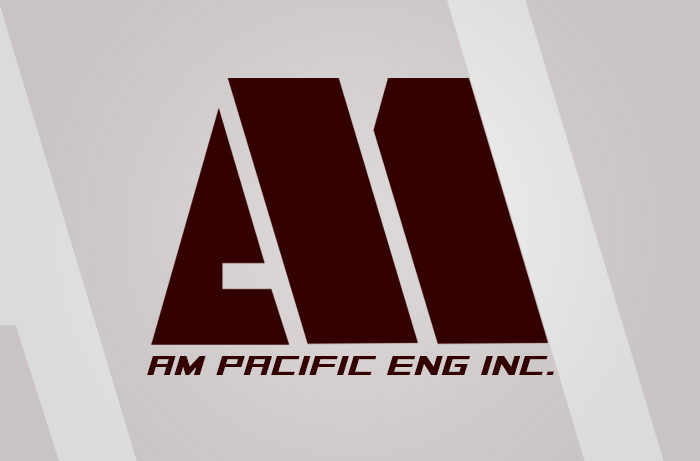 AM Pacific Logo Design (Engineering Logo)