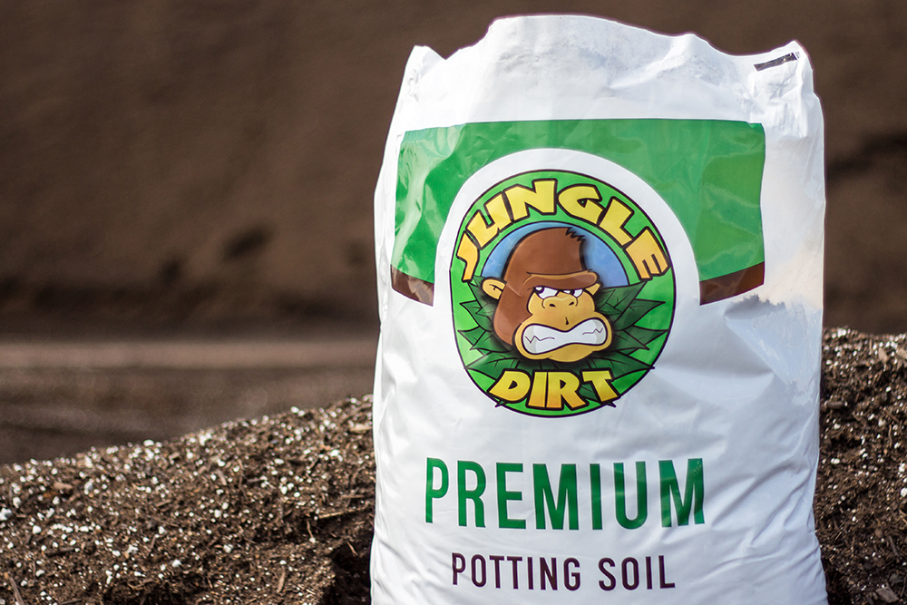 Jungle Dirt Potting Soil - Photography