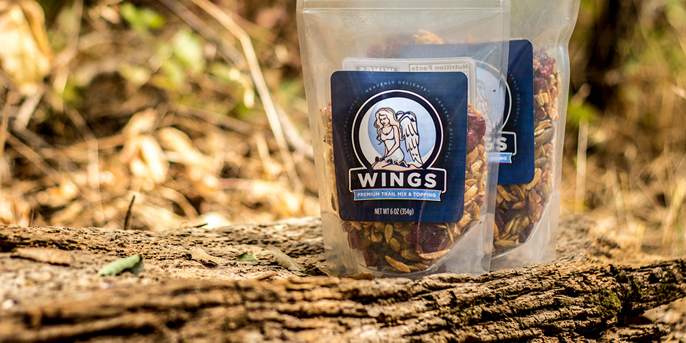 Wing Nuts Trail Mix Website Design