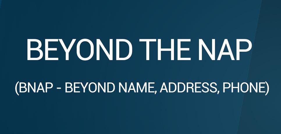 BNAP - Beyond Name, Address, Phone