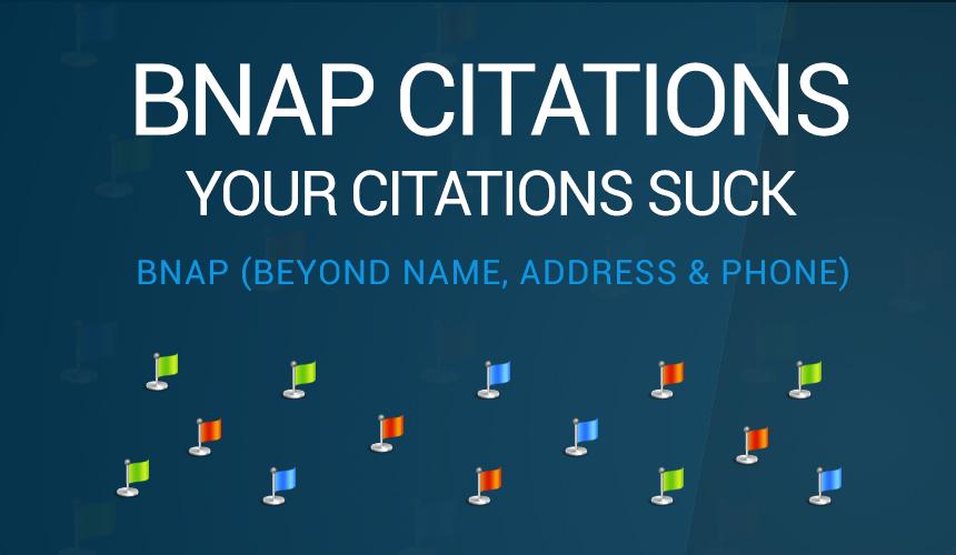BNAP Citations for SEO