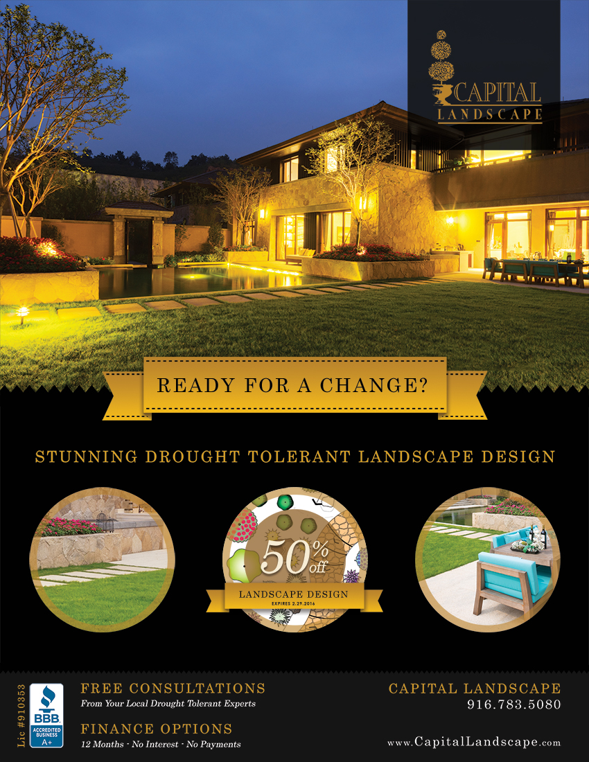 Landscape Design Magazine Ad Graphic Design