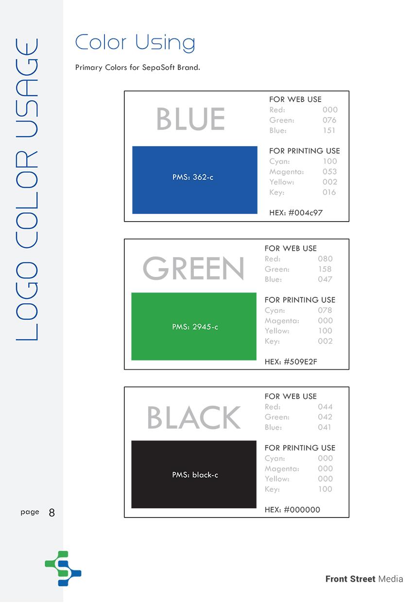 Brand Identity Design Sacramento - Logo Design Color Usage