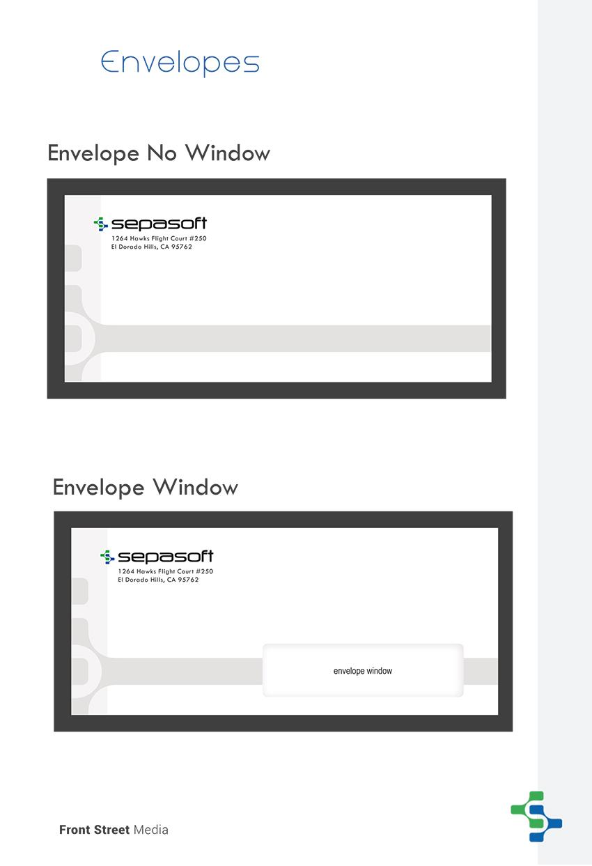 Brand Identity Design Sacramento - Envelope Design