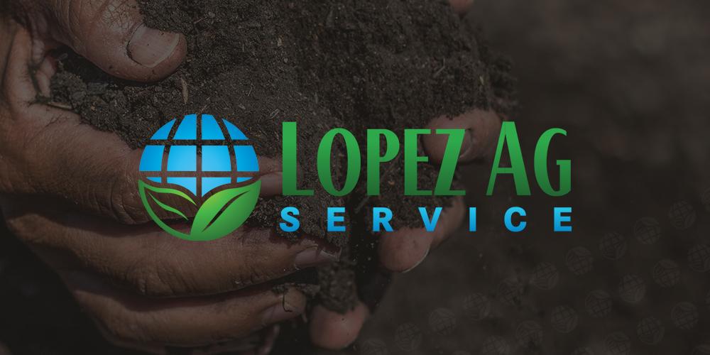 Lopez Ag Service Brand Identity - Logo Design