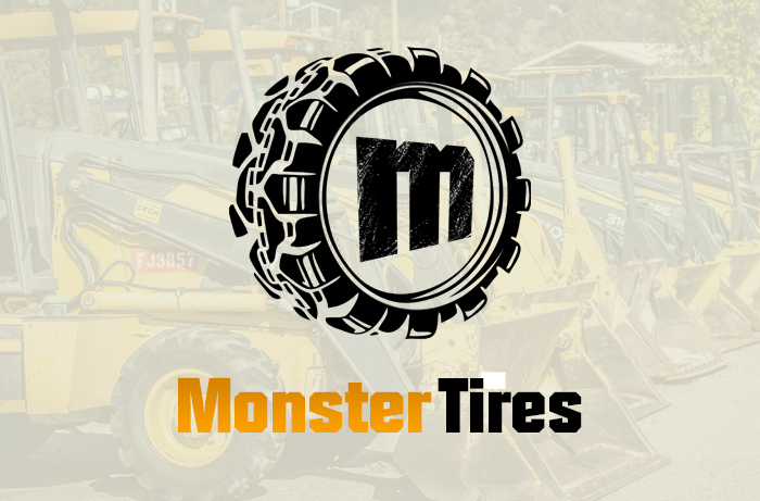 Monster Tires Branding