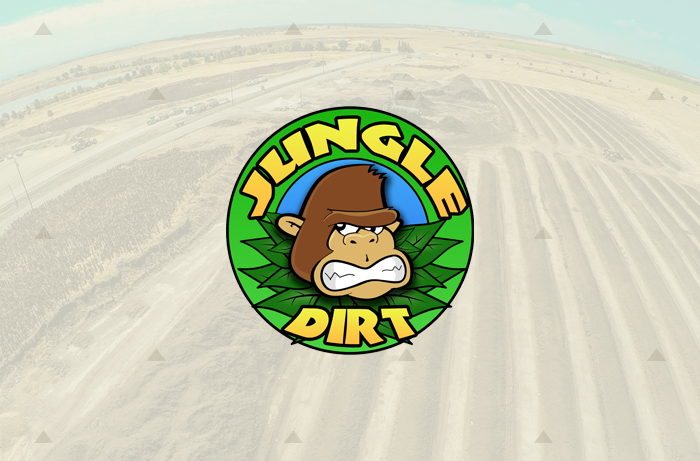 Jungle Dirt Soil Company Branding