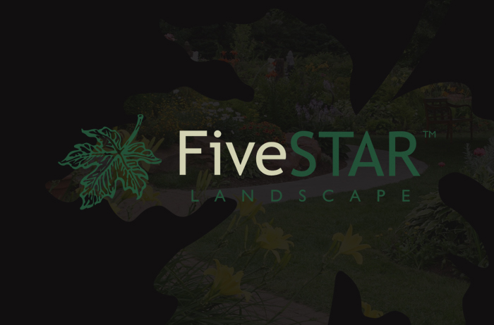 FiveSTAR Landscape - Website Design