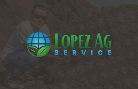 Lopez Ag Service Website Design & Photography