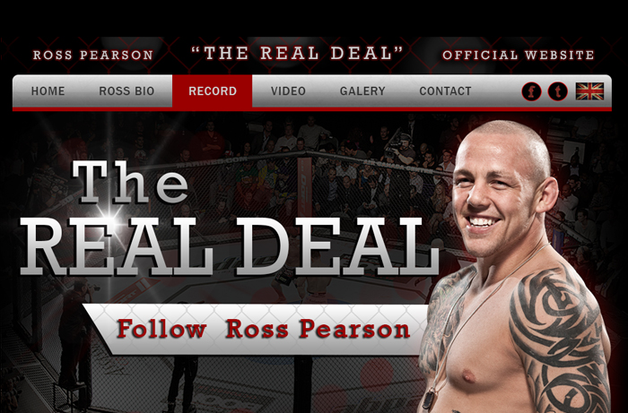Portfolio - Ross Pearson - UFC Fighter