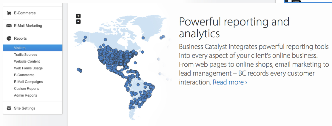 Adobe Business Catalyst Analytics