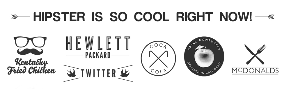Hipster Logo Design Trends and Mistakes