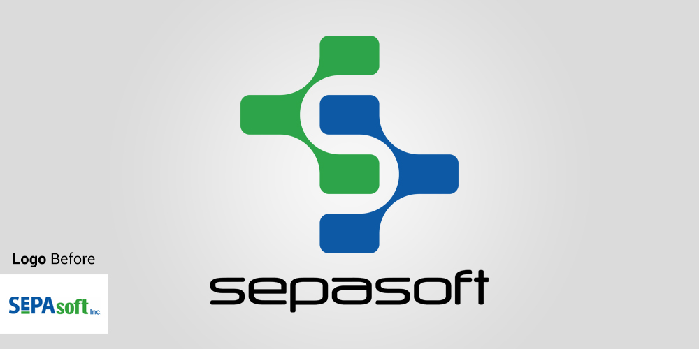 Logo Design (Before and After) SepaSoft