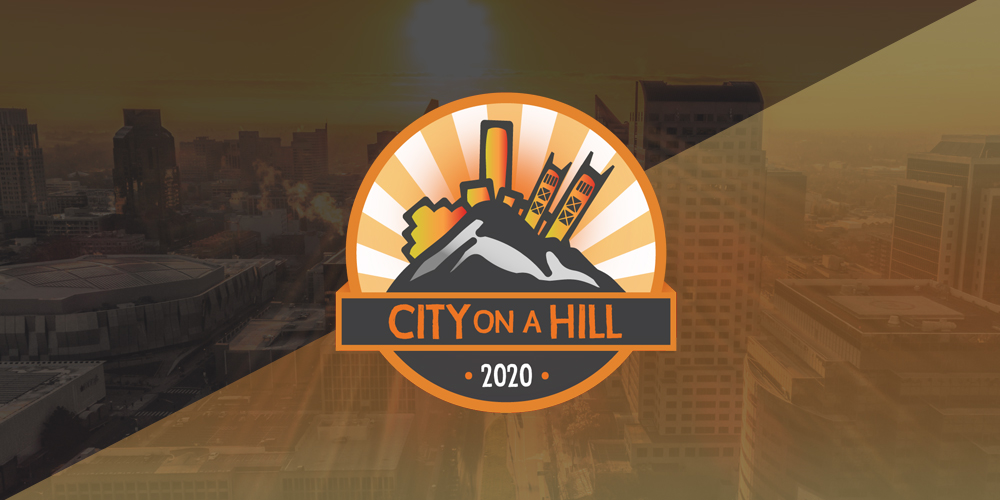 City on a Hill Logo Design/ Branding
