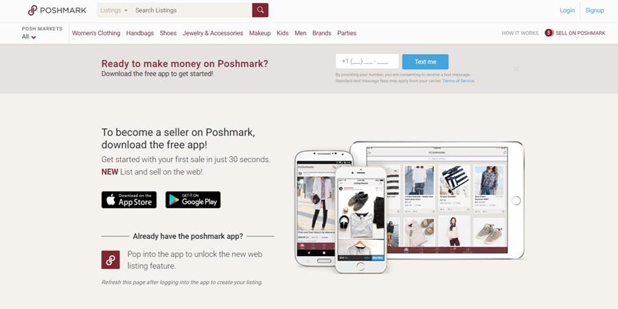Poshmark - eCommerce Site